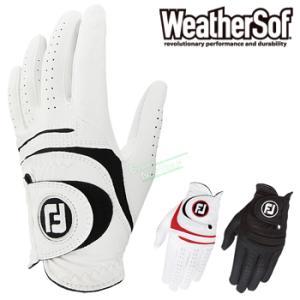 フットジョイ日本正規品WeatherSof(ウェザーソフ)ゴルフグローブ(左手用)「FGWF15」
