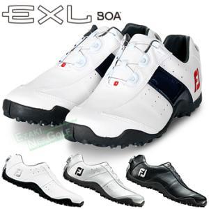 FOOTJOY(フットジョイ)日本正規品 EXL Spikeless Boa (EXLスパイクレスボア) スパイクレスゴルフシューズ 2018モデル ウィズ:W(EE)|ezaki-g