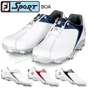 FOOTJOY(フットジョイ)日本正規品 SPORT Boa(スポーツボア) ソフトスパイクゴルフシ...