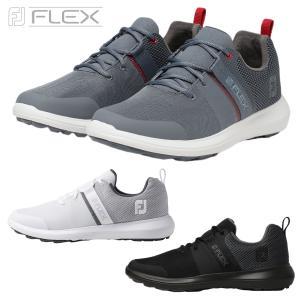 FOOTJOY(フットジョイ)日本正規品  FJ FLEX(フレックス) 2019新製品 スパイクレスゴルフシューズ|ezaki-g