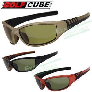 ゴルフキューブスポーツサングラスGSC-090  ●当商品は、在庫限りの最終販売となりますので、イメ...