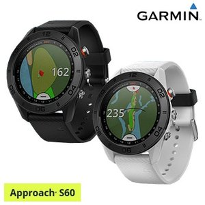 ガーミン(GARMIN)日本正規品高性能GPS距離測定器腕時計型GPSゴルフナビAPPROACH(アプローチ) S60スタンダードモデル「010-01702」