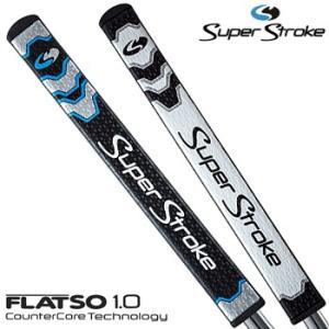 【日本正規品在庫限りの大放出】SuperStroke(スーパーストローク)日本正規品FLATSO1.0カウンターコアテクノロジーパターグリップ