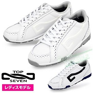 TOP7(トップセブン) スパイクレスゴルフシューズ レディスモデル  「TS2111」|ezaki-g