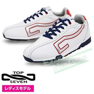 TOP7(トップセブン)レディスモデルスパイクレスゴルフシューズ「TS2112」|ezaki-g