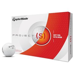 テーラーメイド日本正規品 PROJECT(s) (プロジェクト エス) 2019モデル ゴルフボール1ダース(12個入り)