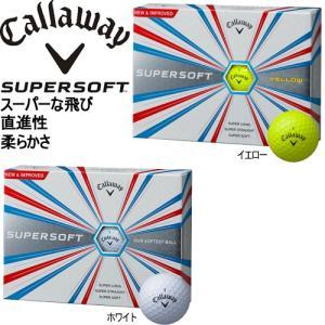 【2017年モデル日本正規品】 キャロウェイ スーパーソフト ゴルフボール 【1ダース12個入り】 「CALLAWAY SUPER SOFT」