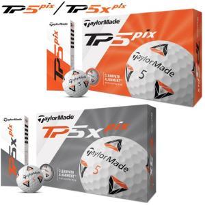 2020年モデル日本正規品 テーラーメイド TP5 Pix TP5X Pixゴルフボール 1ダース1...