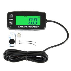 ・汎用デジタル式タコメーター、アワーメーター(総稼働時間計)です。 ・本製品はCDI、フルトランジス...