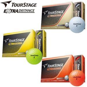ツアーステージ エクストラ ディスタンス ゴルフボール 1ダース 2014年モデル EXTRA DISTANCE