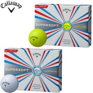 キャロウェイ スーパーソフト ゴルフボール 1ダース 12P 2017モデル callaway SUPERSOFT