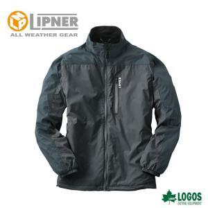 LIPNER リプナー 軽量あったかウインドブレーカー ウィルソン ブラック 3078671 防水防寒ウェア メンズ|ezone