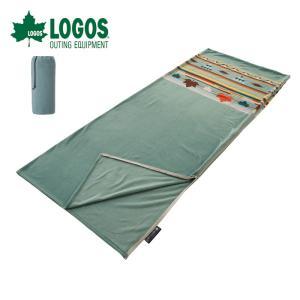 10%OFFクーポン対象 ロゴス LOGOS フリースシュラフ(ターコイズナバホ) 寝袋 72600...