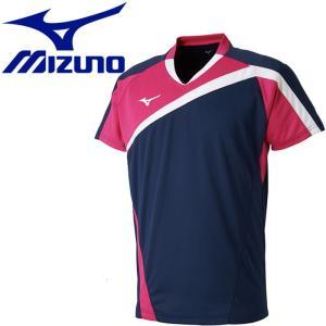 ミズノ ゲームシャツ メンズ レディース 72MA800514|ezone