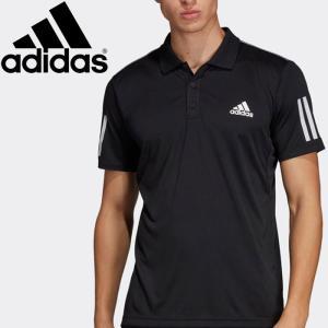 【2点までメール便送料無料】アディダス TENNIS CLUB 3STR POLO ポロシャツ メンズ FRW69-DU0848|ezone