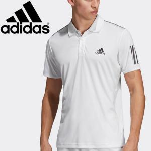 【2点までメール便送料無料】アディダス TENNIS CLUB 3STR POLO ポロシャツ メンズ FRW69-DU0849|ezone