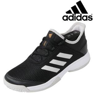 アディダス adizero club k テニスシューズ ジュニア CDZ15-EF0601|ezone