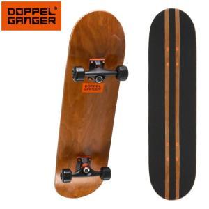 ドッペルギャンガー コンプリートスケートボード DSB001-BR ezone
