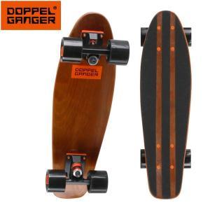 ドッペルギャンガー ミニクルーザースケートボード DSB002-BR ezone