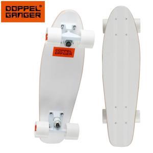 ドッペルギャンガー ミニクルーザースケートボード DSB002-WH ezone