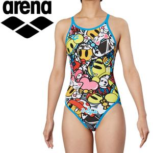 アリーナ 水泳 スーパーフライバック トレーニング 水着 ガールズ ジュニア FSA-9617WJ-BLU 返品不可 ezone