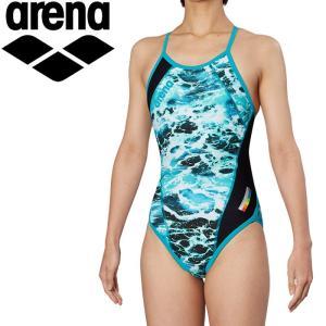 アリーナ 水泳 メッシュフライバック トレーニング 水着 ガールズ ジュニア FSA-9618WJ-MNT 返品不可 ezone