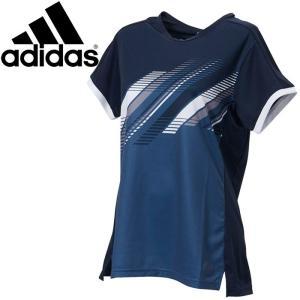 【2点までメール便送料無料】アディダス テニス CCTCLUB W TEE Tシャツ レディース FWS44-DY7455|ezone