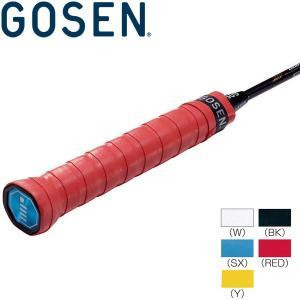 ゴーセン バドミントン グリップテープ スーパーグリップバドセン AC21-red|ezone