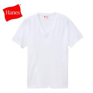 ヘインズ VネックTシャツ ジャパンフィット 2枚組 H5315-010 19SS |ezone