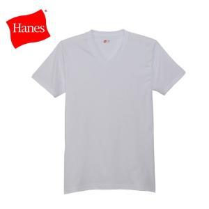 ヘインズ アオラベル VネックTシャツ 3枚組 HM2125G-010 19SS |ezone