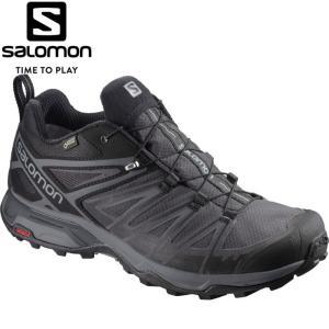 サロモン X ULTRA 3 WIDE GORE-TEX トレッキングシューズ メンズ L40659600|ezone