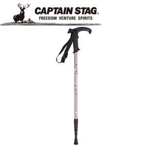 キャプテンスタッグ トレッキングステッキTグリップPKドット M9857 CAPTAIN STAG|ezone