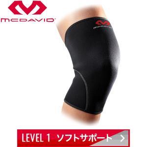 【2点までメール便送料無料】マクダビッド ニーサポート 左右兼用 膝 サポーター M401-BK 返品不可|ezone