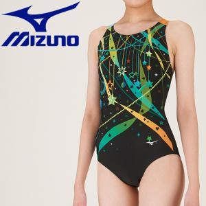 ミズノ 水泳 ワンピース ピースバック フィットネス 水着 レディース N2JA980193 ezone