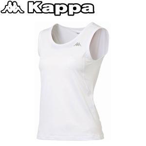 カッパ ノースリーブアンダーシャツ レディース KM462UT80-WT1|ezone