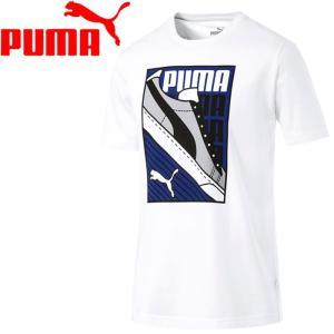 【2点までメール便送料無料】プーマ スニーカーSS Tシャツ メンズ 854074-02