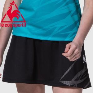 ルコック テニス ゲームスコート レディース QTWOJE05-BLK|ezone