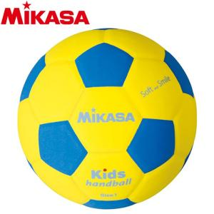 ミカサ スマイルハンドボール1号 150g SH1-YBL 4203000|ezone