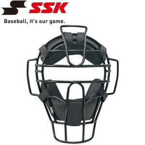 エスエスケイ SSK 野球 軟式審判用マスク A・B・M 号球対応 UPNM310S