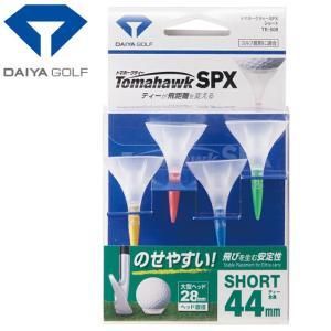 ダイヤ ゴルフ トマホークティー SPX ショート 4本入 TE-506