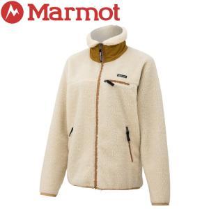 マーモット W's Sheep Fleece Jacket ウィメンズシープフリースジャケット レディース TOWOJL38-SEP|ezone