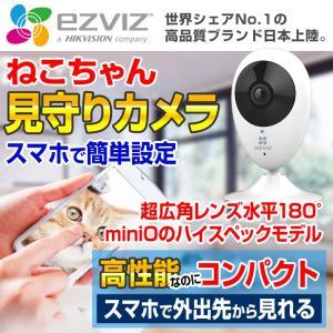 猫 ペットカメラ ペットモニター 見守り 屋内 mini O 180 ezviz