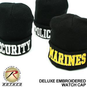 ロスコ 帽子 ニット帽 刺繍 メンズ レディース USAモデル 米軍|ブランド ROTHCO|ニットキャップ ビーニー ミリタリー|f-box