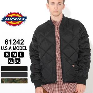 ディッキーズ ジャケット キルティング 61242 メンズ|大きいサイズ USAモデル Dickies|f-box