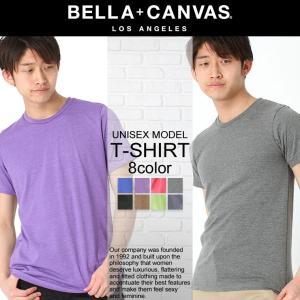 ベラキャンバス ロサンゼルス Tシャツ 半袖 Uネック メンズ レディース|BELLA+CANVAS LOS ANGELES|半袖Tシャツ 大きいサイズ 小さいサイズ|f-box