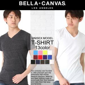 ベラキャンバス ロサンゼルス Tシャツ 半袖 Vネック 無地 メンズ レディース|BELLA+CANVAS LOS ANGELES|半袖Tシャツ 大きいサイズ 小さいサイズ|f-box