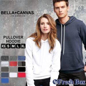 ベラキャンバス ロサンゼルス パーカー メンズ レディー ユニセックス パーカー ブランド プルオーバーパーカー 裏起毛 薄手 無地 BELLA CANVAS (USAモデル)|f-box
