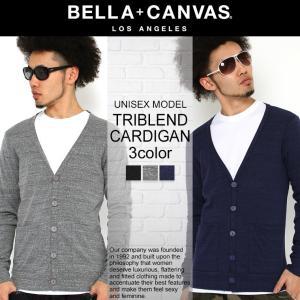 ベラキャンバス ロサンゼルス カーディガン 長袖 無地 メンズ レディース 3900|BELLA+CANVAS LOS ANGELES|大きいサイズ 小さいサイズ|f-box
