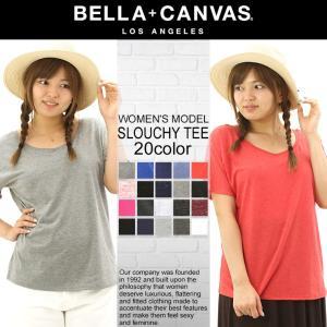 ベラキャンバス ロサンゼルス レディース カットソー ドルマンスリーブ|BELLA+CANVAS LOS ANGELES|大きいサイズ 半袖Tシャツ|f-box
