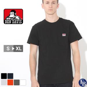 ベンデイビス Tシャツ 半袖 ポケット メンズ 大きいサイズ USAモデル|ブランド BEN DAVIS|半袖Tシャツ ポケT アメカジ ビッグシルエット|f-box